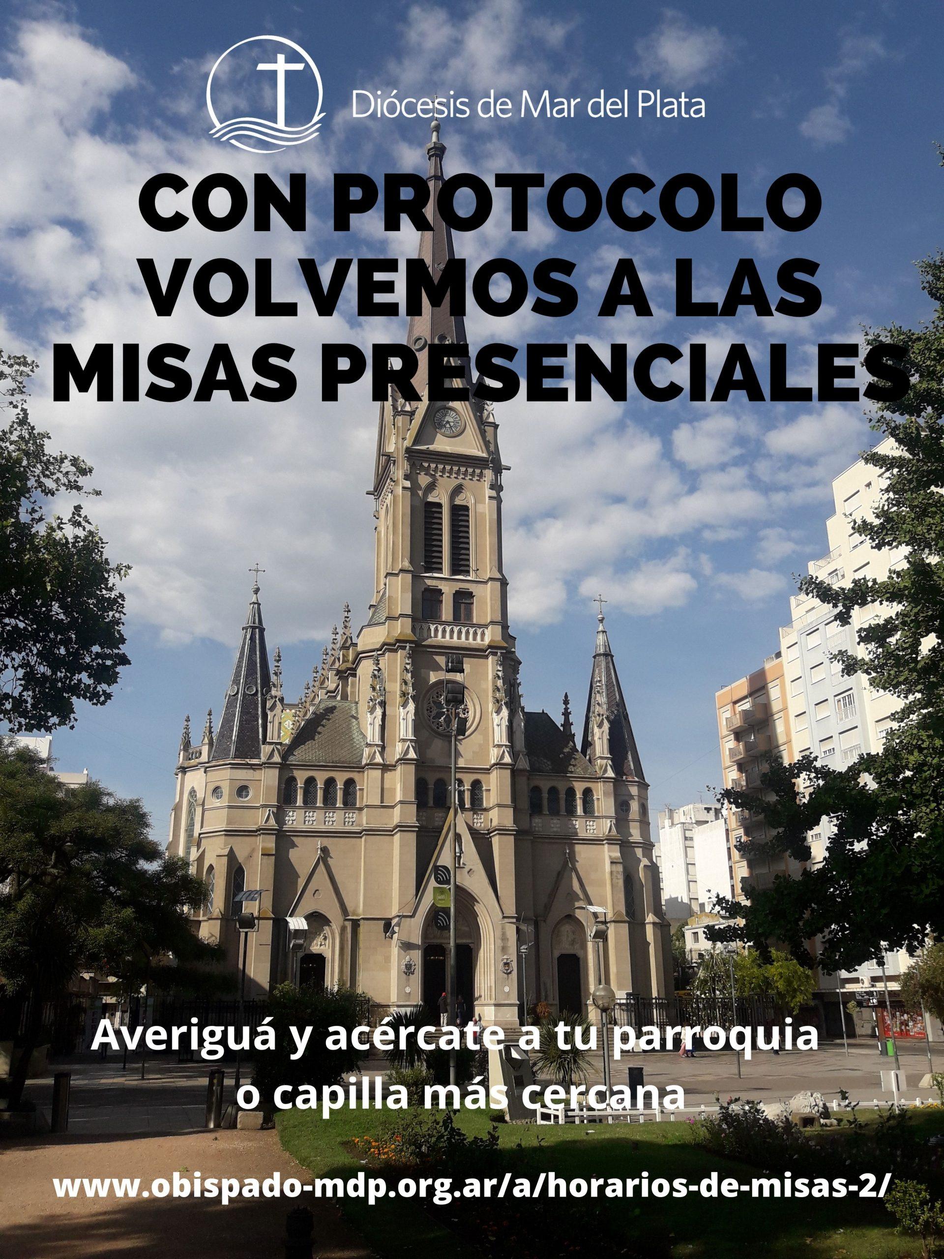 Con protocolo, se reanudaron las misas presenciales