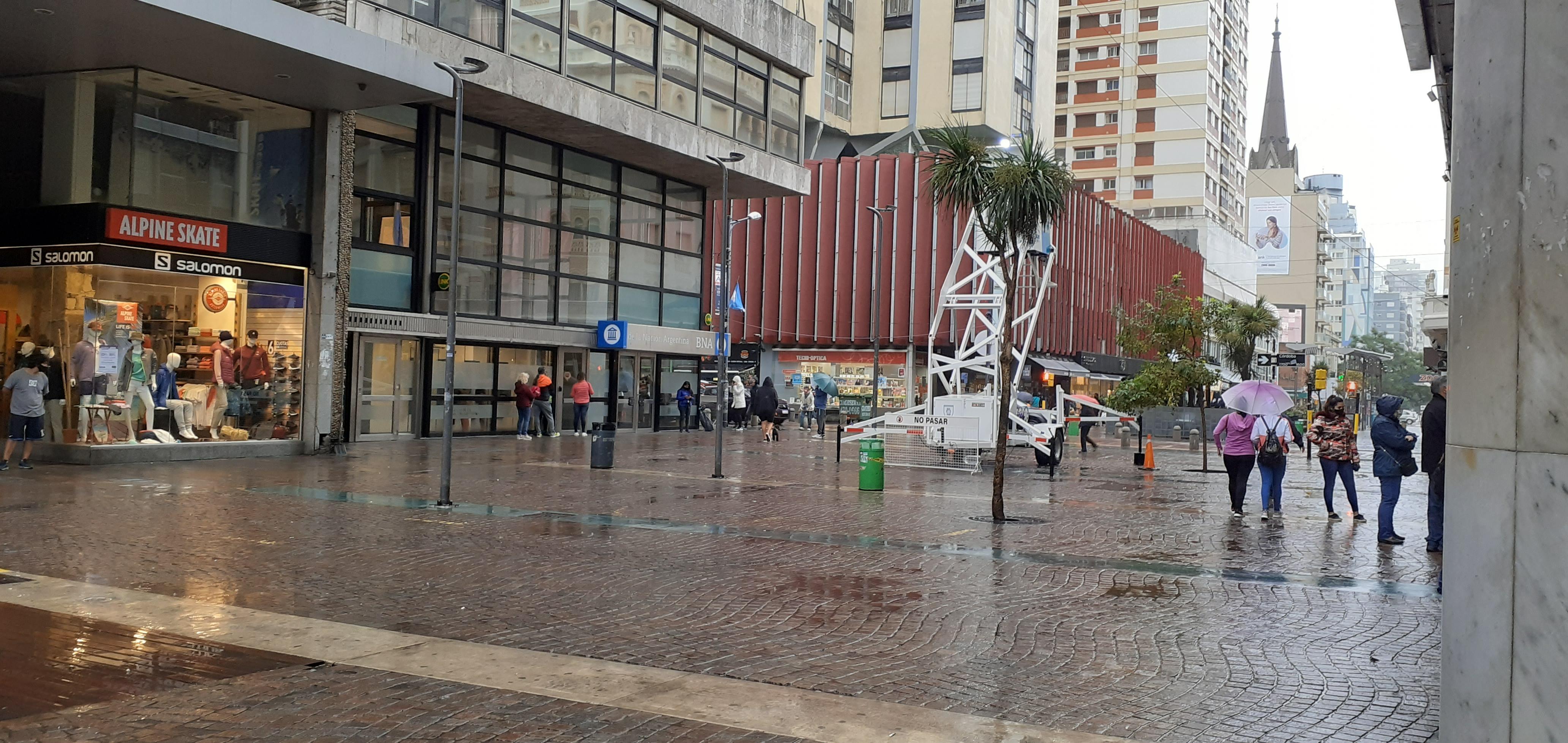 Sigue el alerta meteorológico por lluvias en la Costa Atlántica durante los feriados de Carnaval