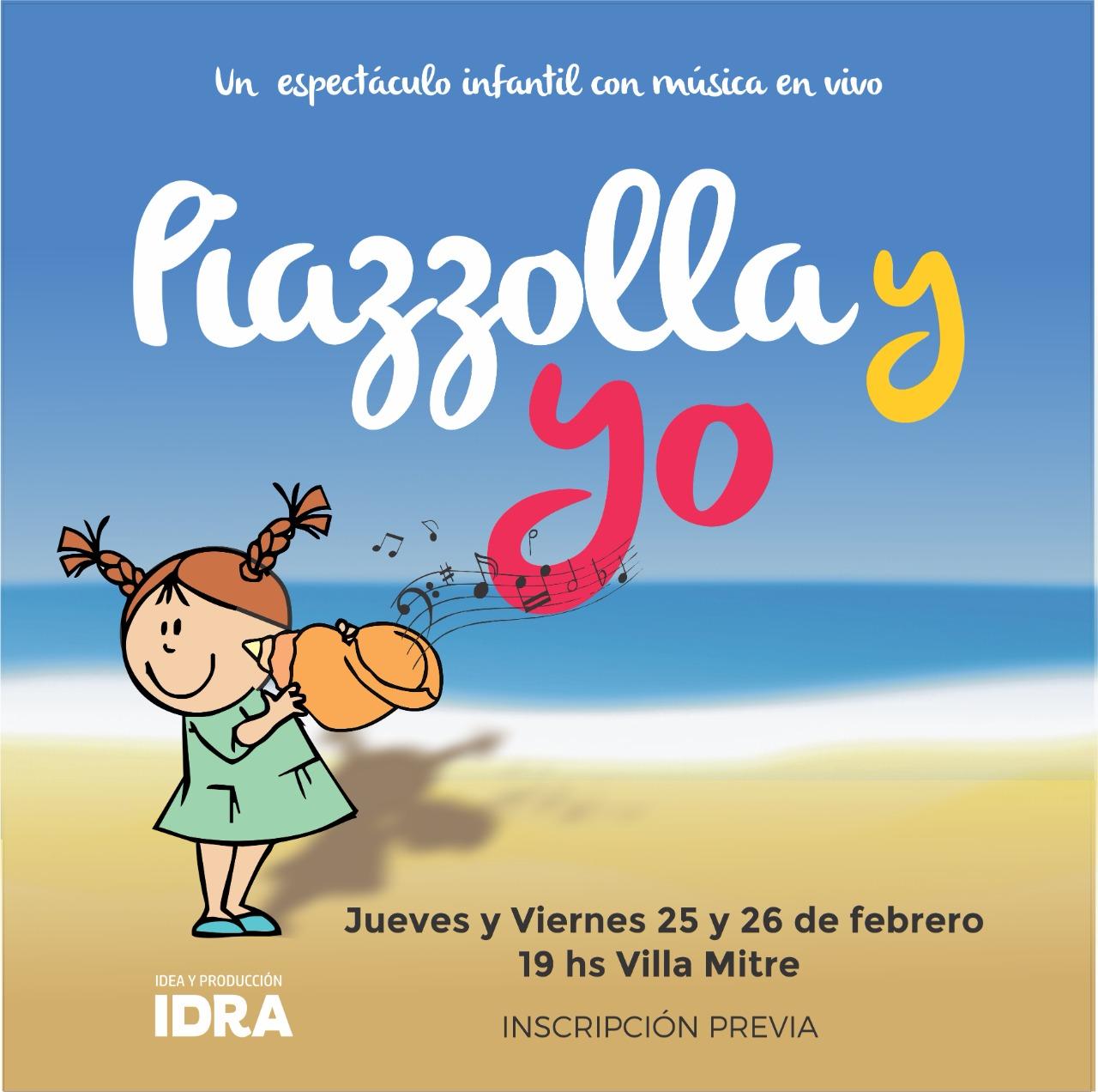 """Regresa """"Piazzolla y yo"""": un homenaje al genio marplatense para los más chicos"""