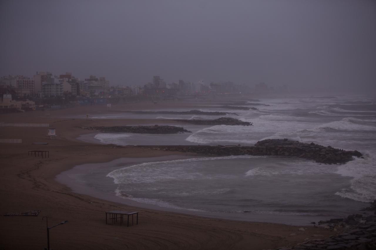 Rige un alerta meteorológico por tormentas fuertes en Mar del Plata