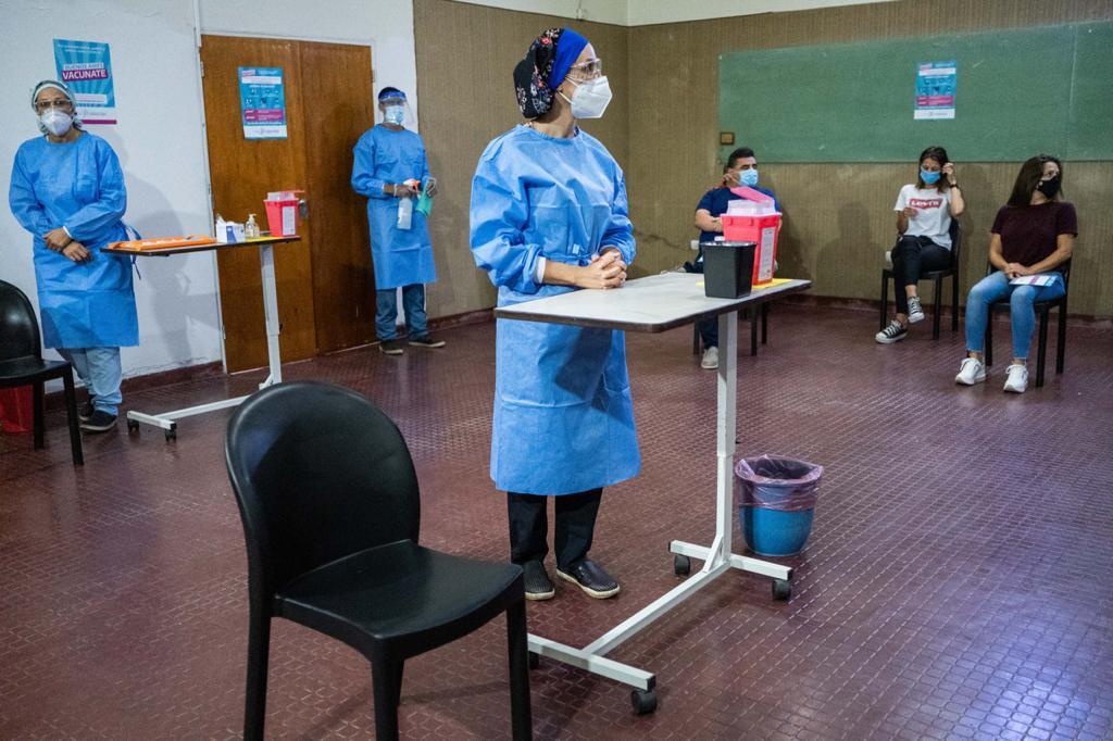 Comienza la vacunación Covid en dos sedes municipales