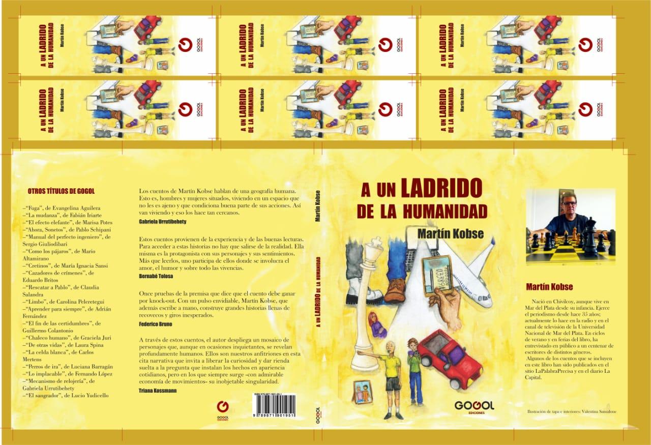 En marzo sale el primer libro de cuentos de Martin Kobse