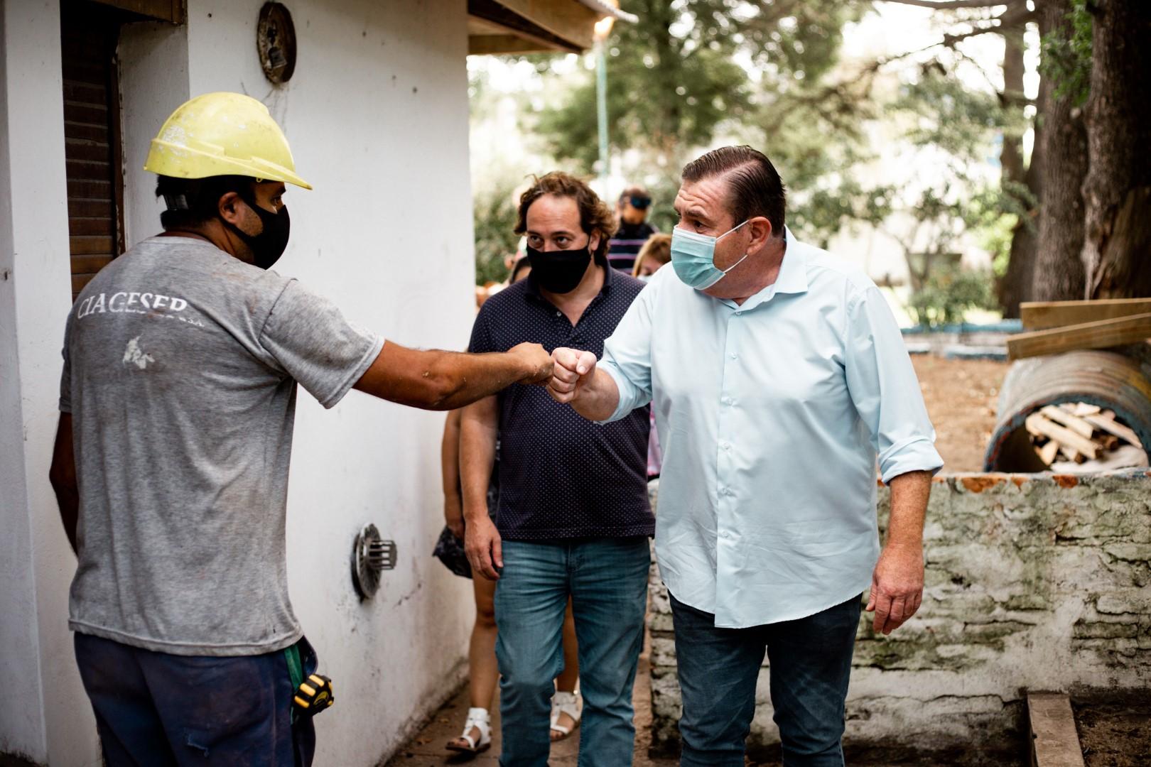 """El Municipio repara la Casa del Niño """"El Grillito"""""""