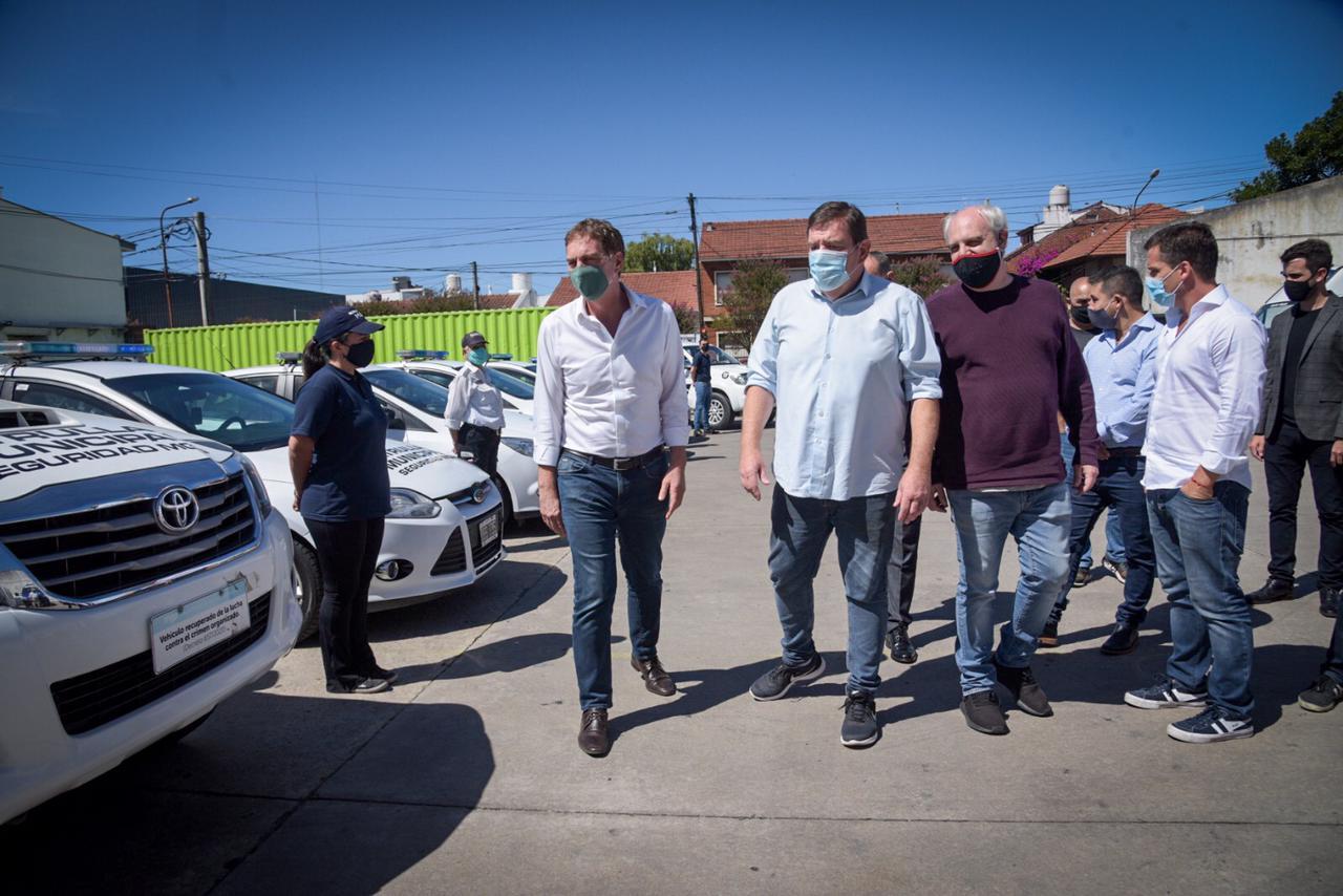 Mar del Plata recibirá vehículos blindados para reforzar la seguridad