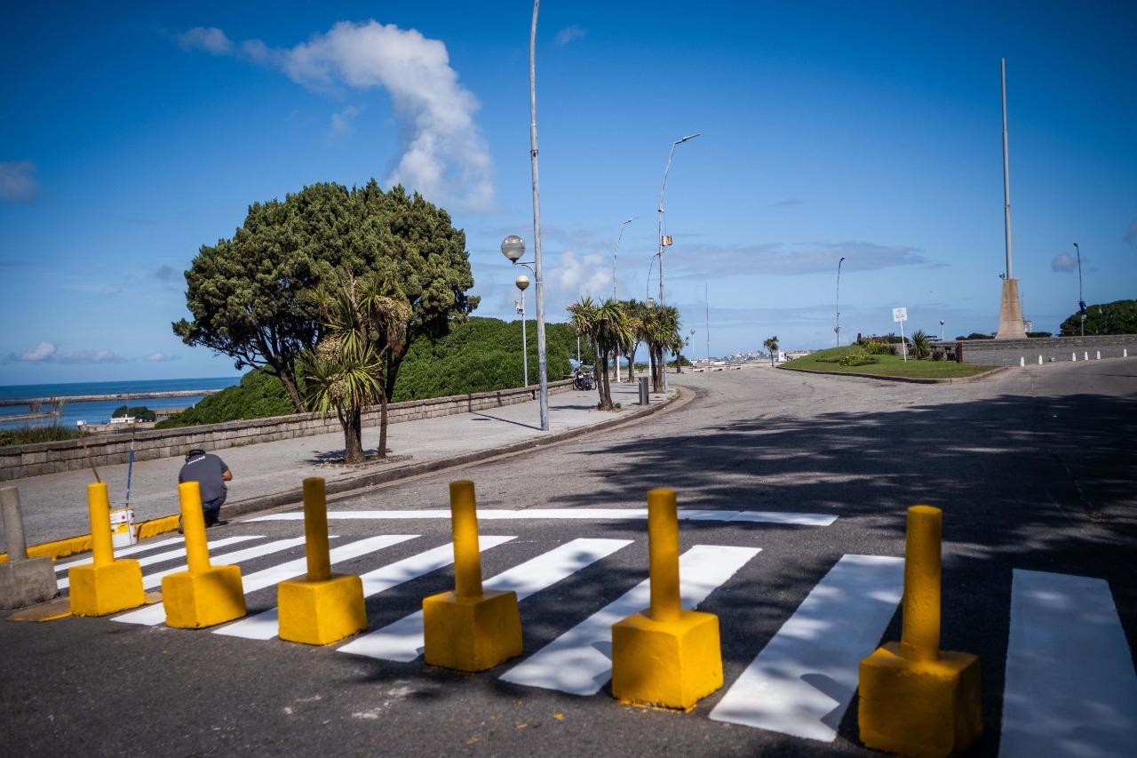 Montenegro ordenó restablecer el tránsito en la Rotonda del Golf
