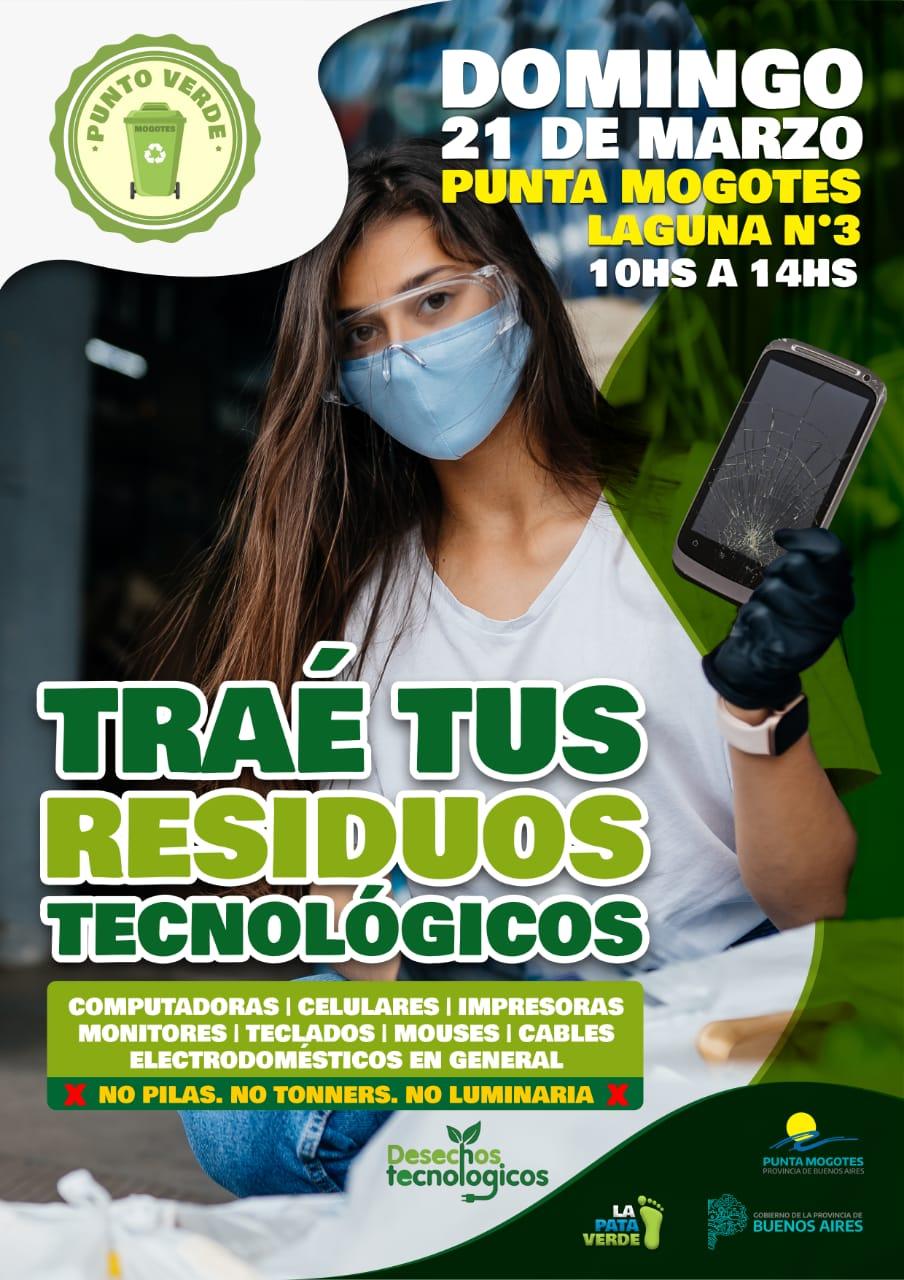 Punta Mogotes: Convocan a una jornada para juntar desechos tecnológicos