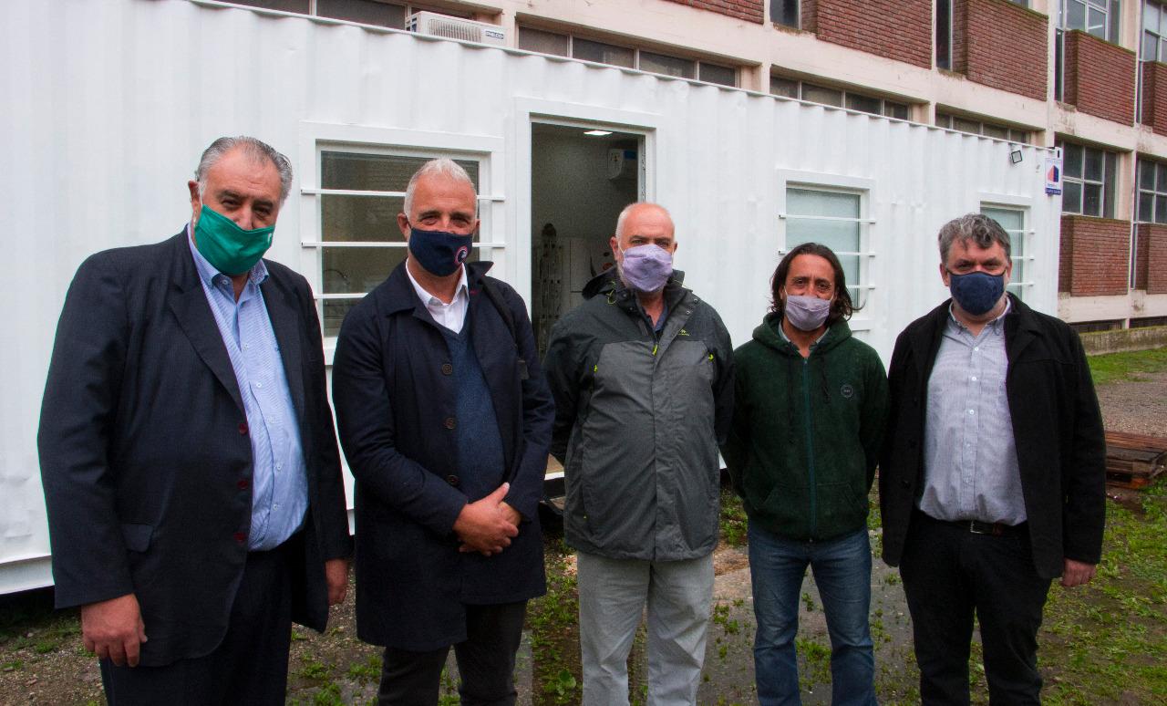 Quedó inaugurado el Laboratorio de Hisopados de la UNMDP