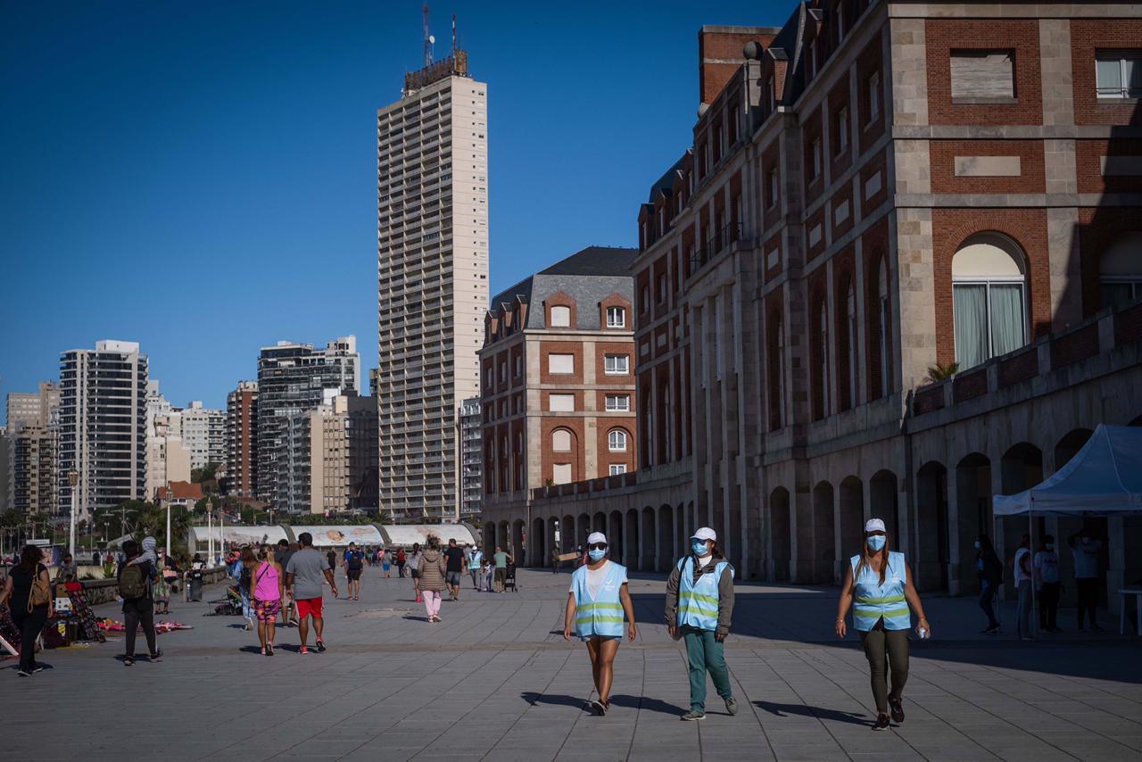 Más de 177 mil turistas eligieron Mar del Plata en el fin de semana largo