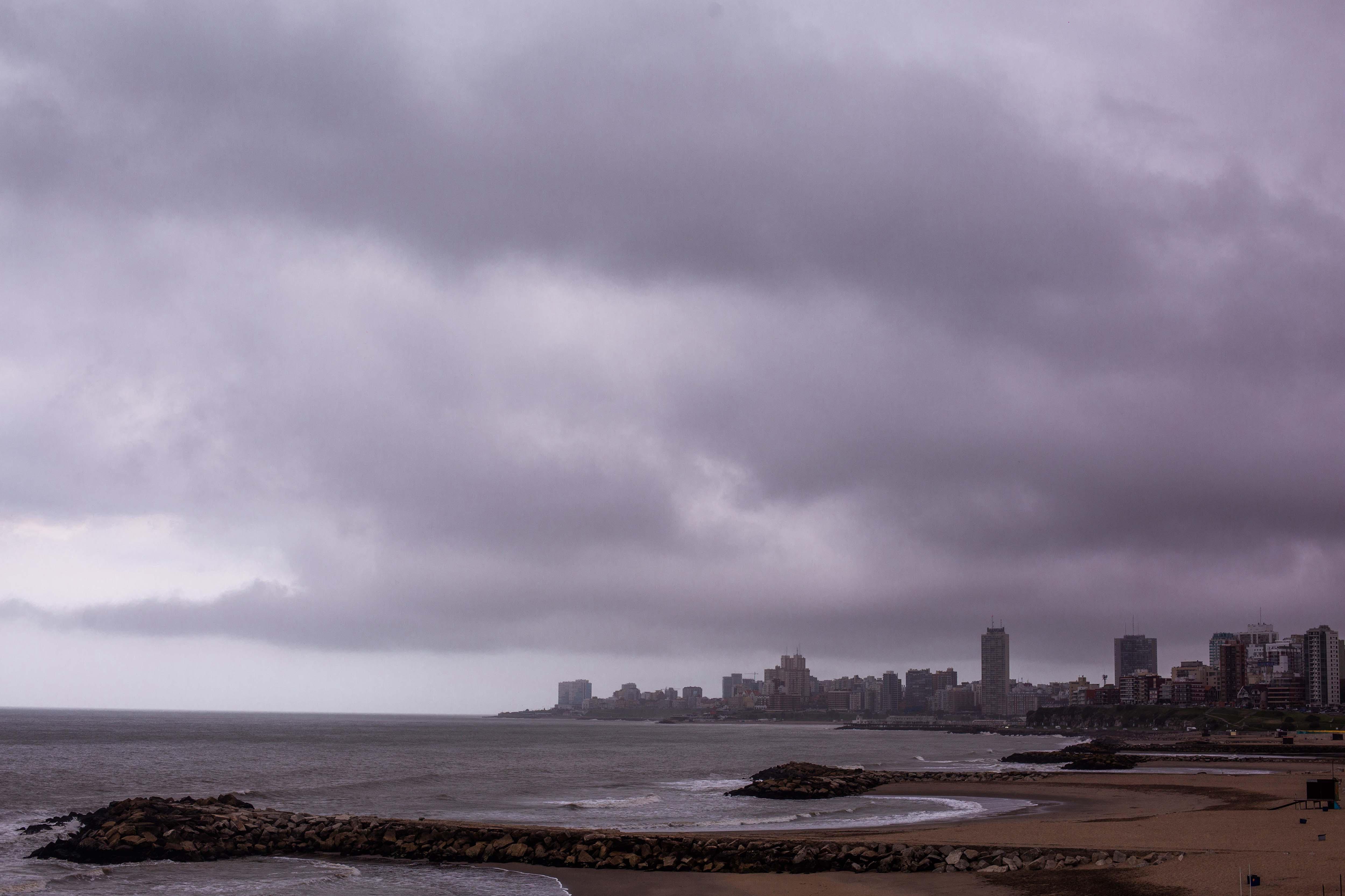 Rige alerta amarillo por fuertes vientos para Mar del Plata, Miramar, Pinamar y Villa Gesell