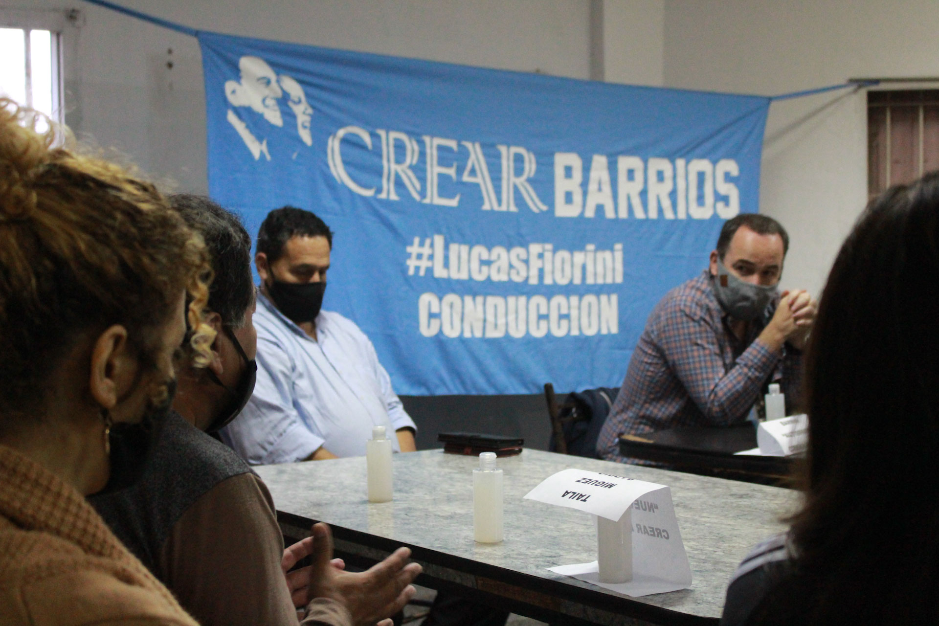 """Con referentes de distintos puntos de la ciudad se lanzó """"CreAr Barrios"""""""