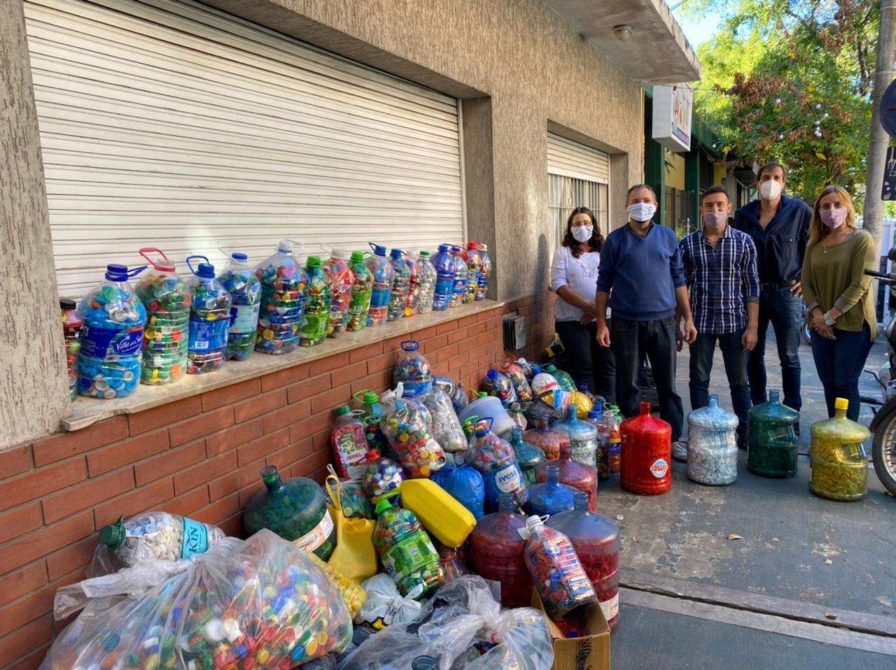 Entregaron cerca de 100 kilos de tapitas a la Cooperadora de Hospitales de Mar del Plata
