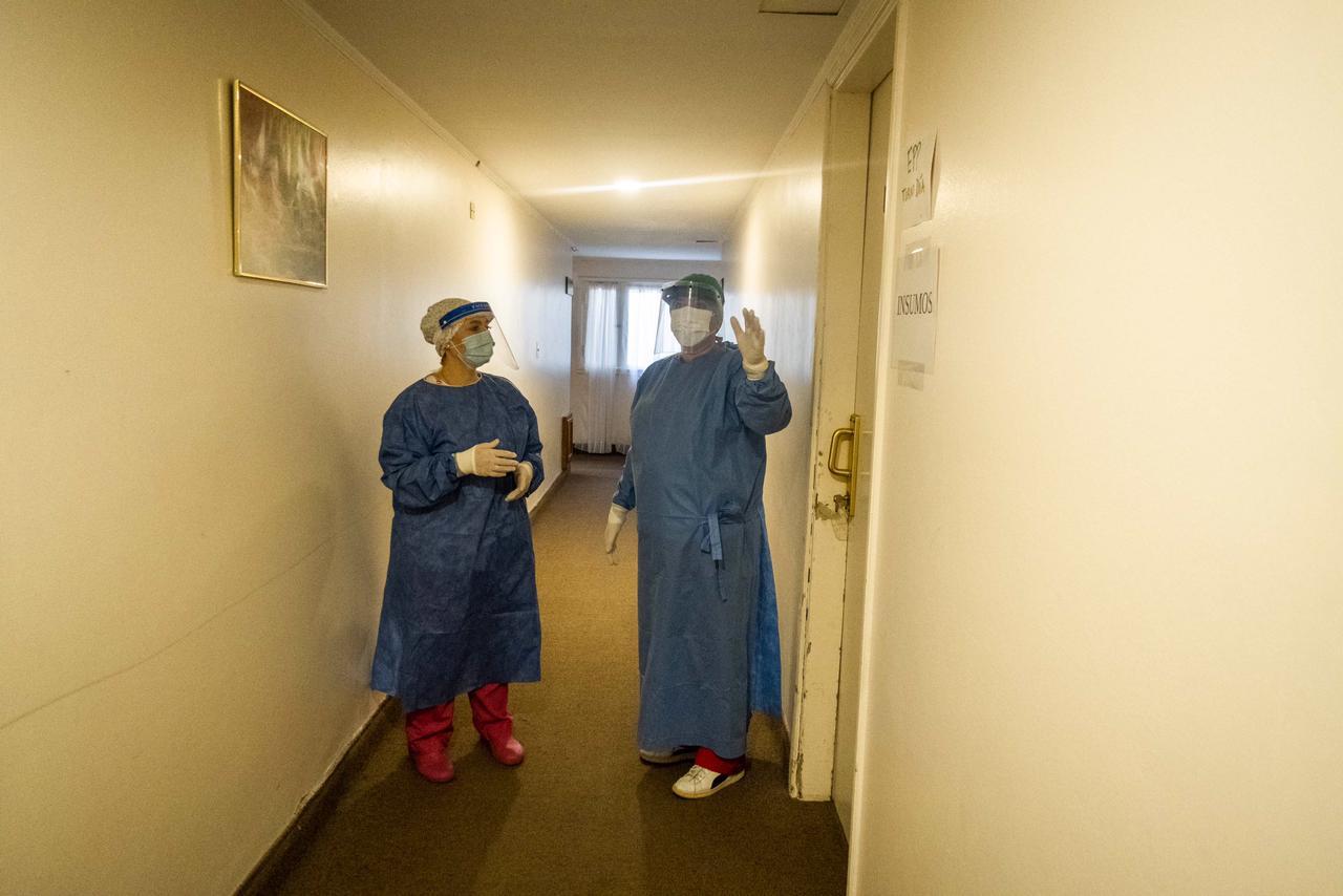 El Municipio dispuso unas 130 camas en hoteles para descomprimir a los hospitales