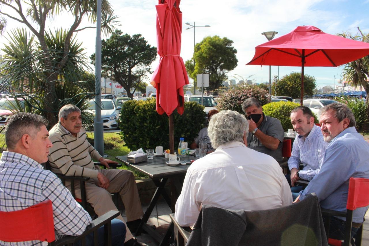 Costa y Fiorini se enfocaron en la reactivación del puerto de Mar del Plata