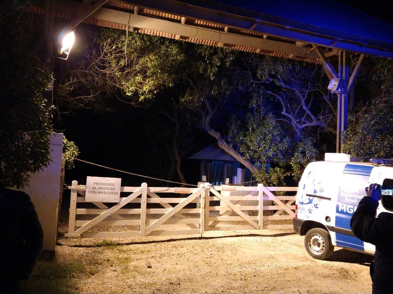 Desactivan fiesta clandestina en un balneario de la zona sur