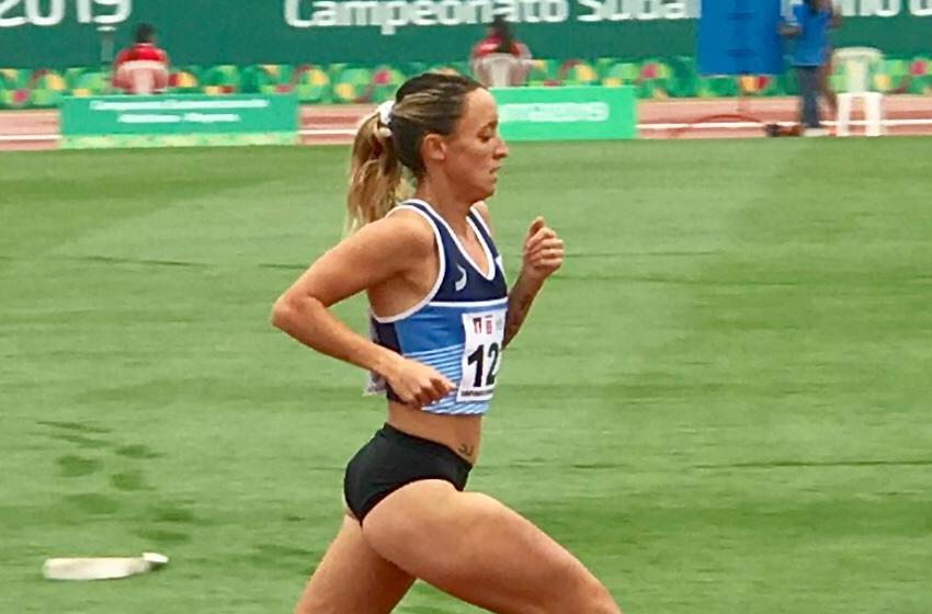 Florencia Borelli, plata en el Sudamericano de Atletismo