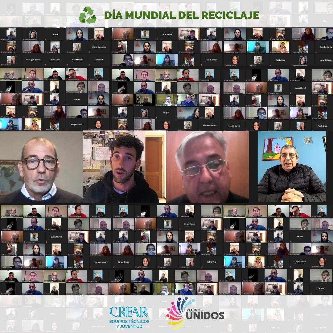 Se desarrolló un panel de experiencias vinculadas al reciclaje y la conciencia ambiental