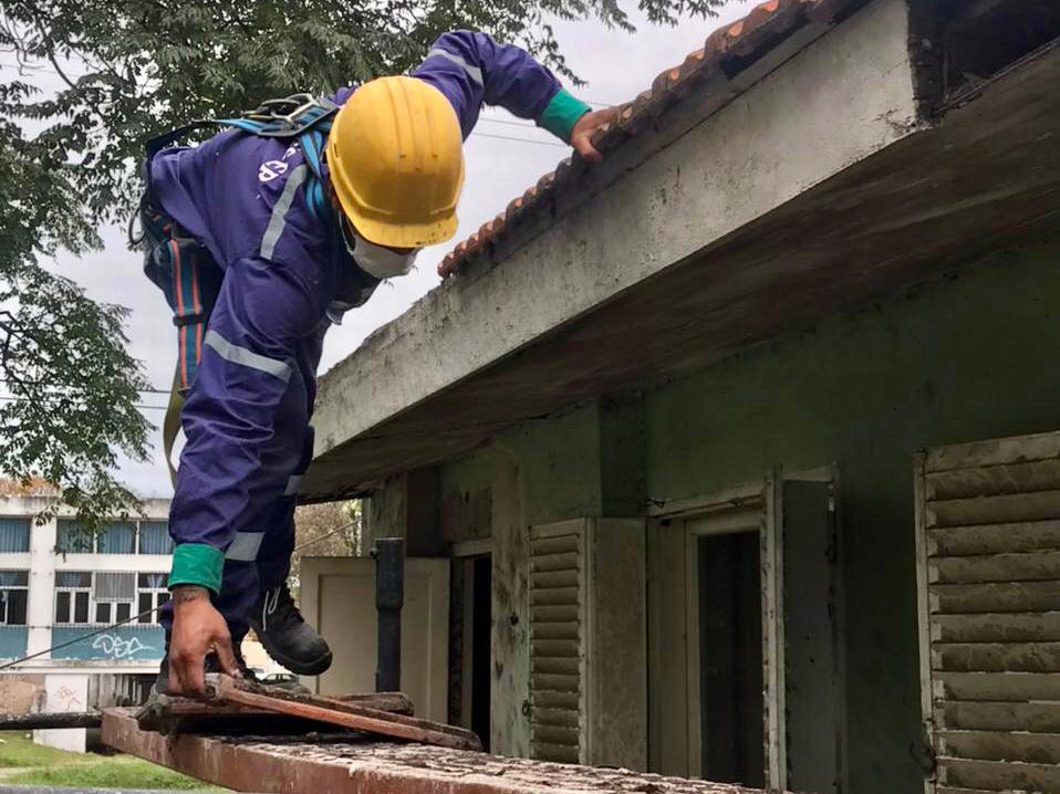 Avanzan obras en la Residencia Municipal para Adultos Mayores