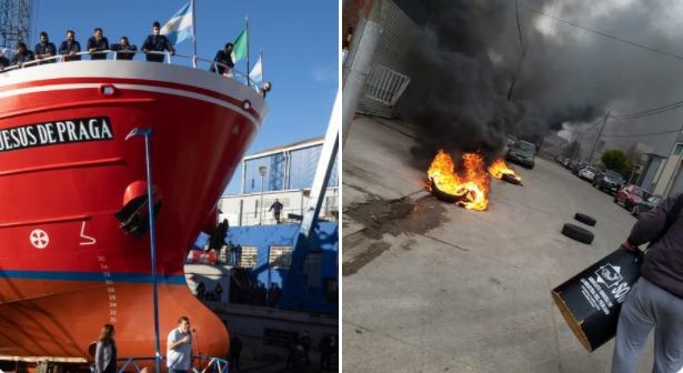 Contrastes en el puerto y solo impunidad por violar la ley