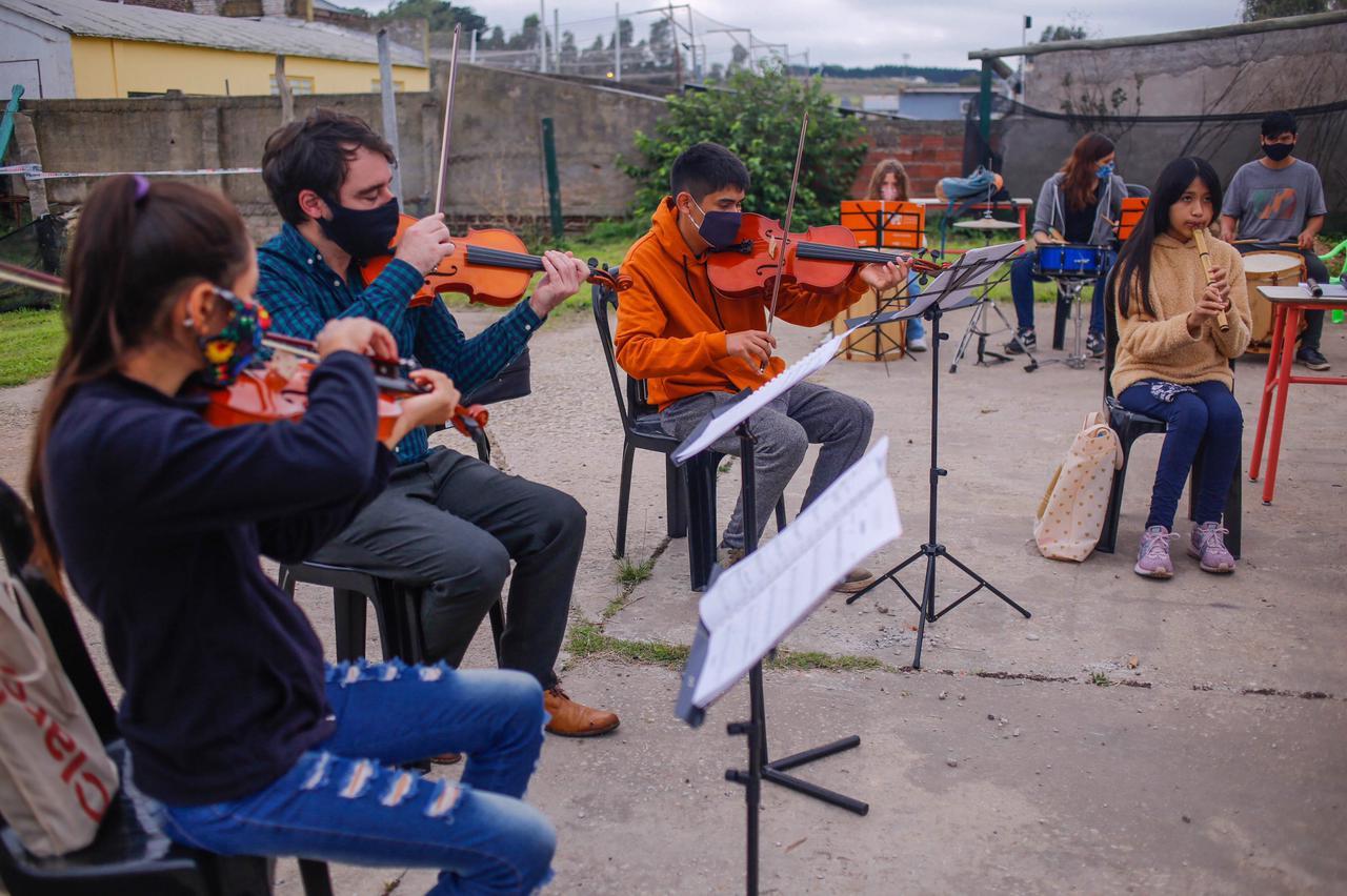 Continúa abierta inscripción a la Orquesta Municipal Infanto Juvenil