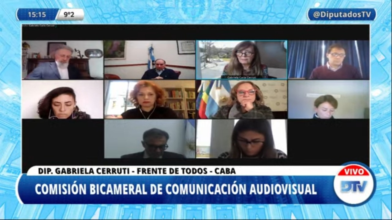 La Defensora del Público de Servicios de Comunicación Audiovisual expone en el Congreso