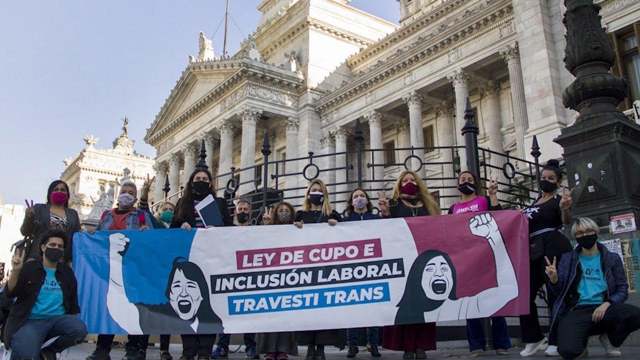El Senado convirtió en Ley el proyecto sobre cupo laboral travesti trans