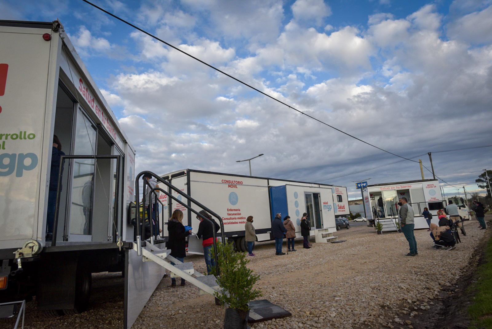 El dispositivo Salud en tu Barrio se traslada a Termas Huinco