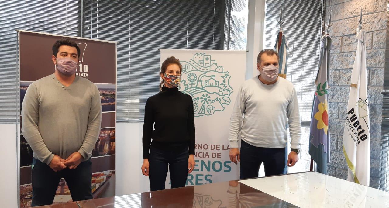 Jóvenes Solidarios firmó un acuerdo con el Consorcio Portuario