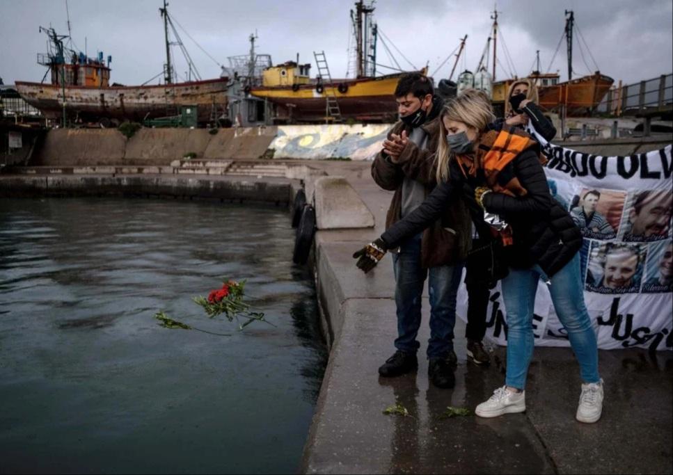 """A cuatro años del hundimiento del pesquero """"Repunte"""", marchan para pedir justicia para las víctimas"""