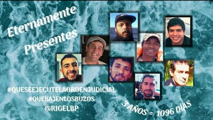 A tres años del naufragio del pesquero Rigel, recuerdan a sus víctimas y piden avances en la causa