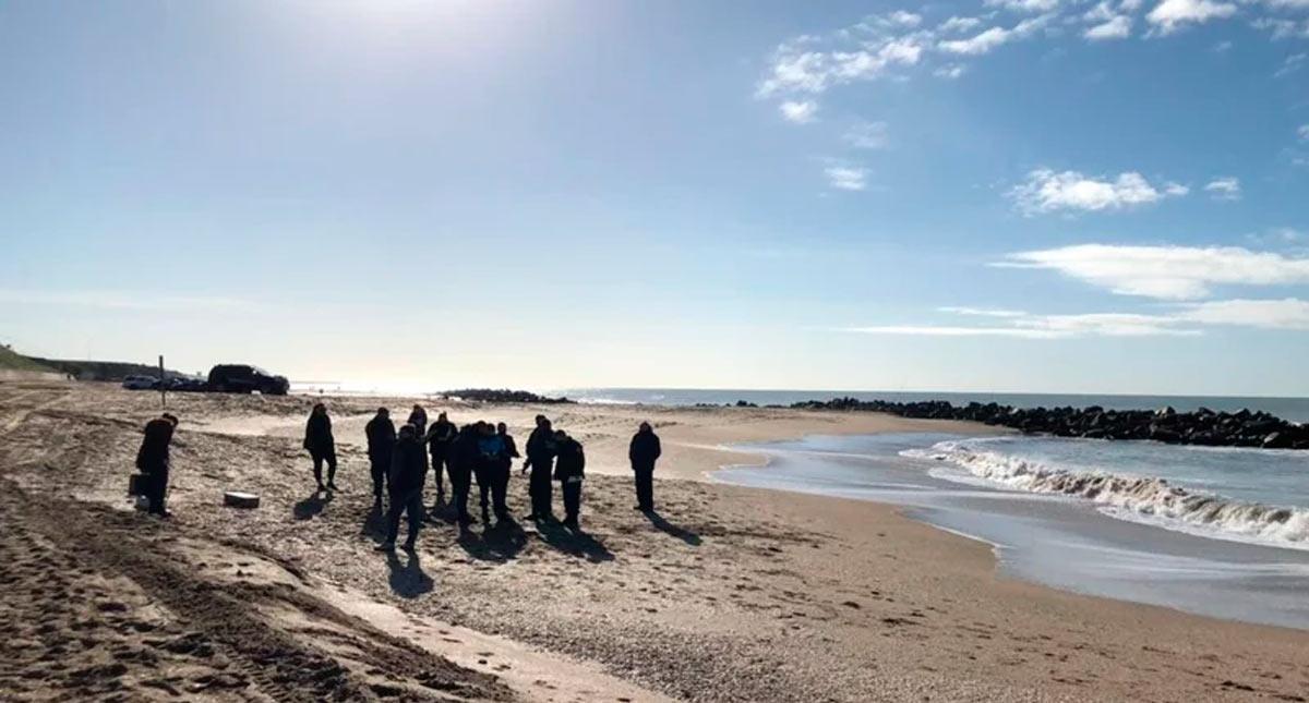Hallaron sin vida a una mujer en una playa a la altura de Parque Camet