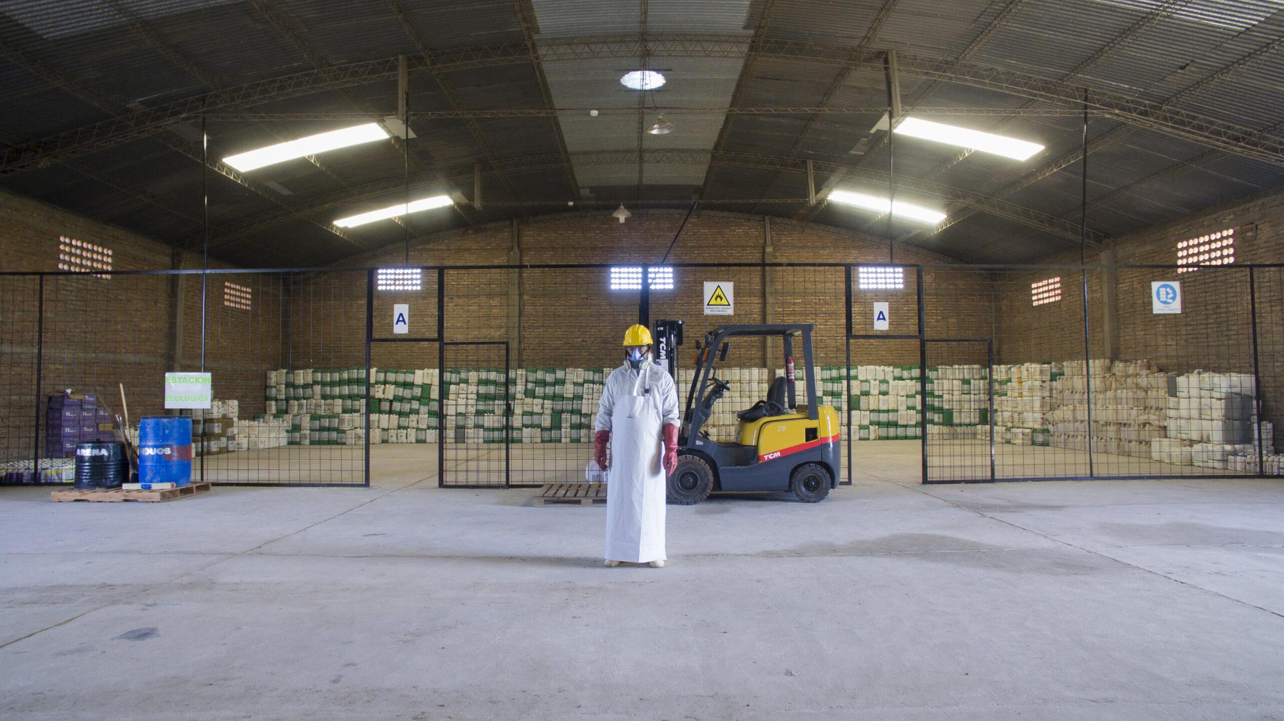Mar del Plata: Nuevo centro de almacenamiento transitorio para envases fitosanitarios