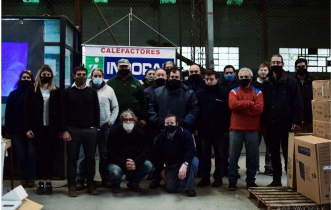 Se realizó capacitación sobre monóxido de carbono en el Parque Industrial local