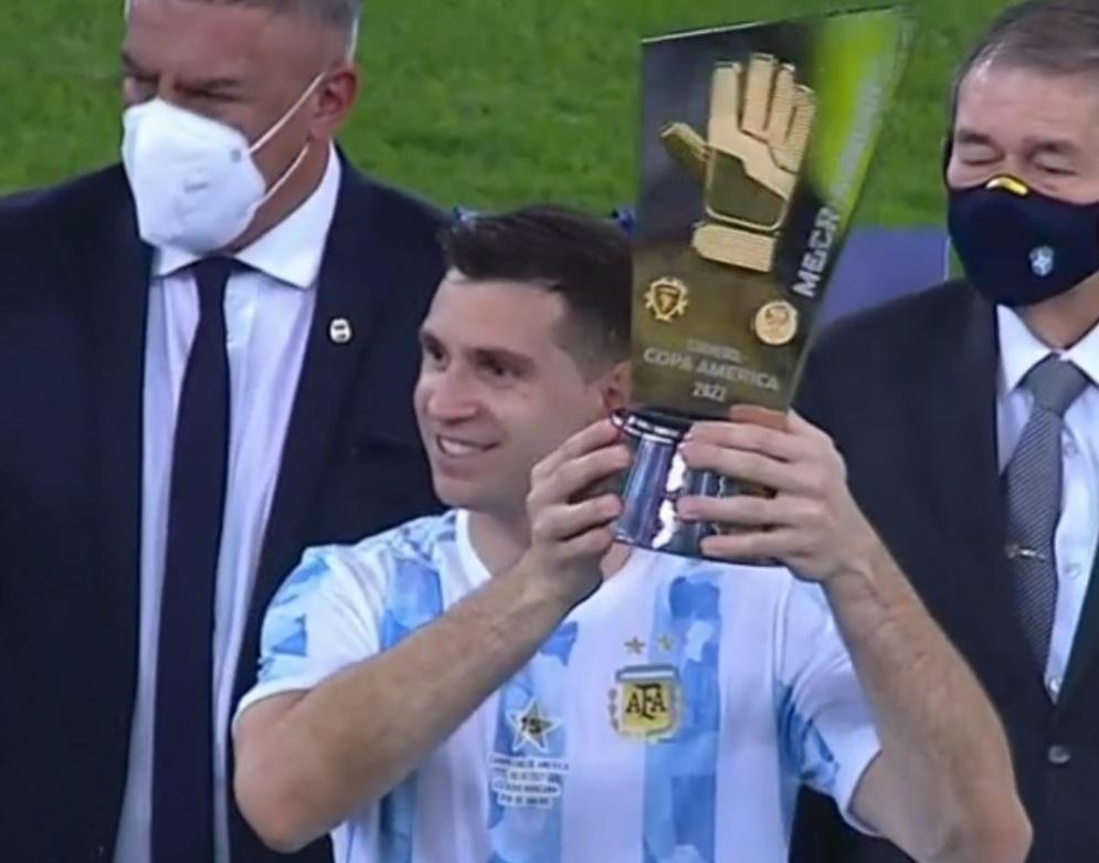 "Emiliano Martínez, de ""tapado"" a titular indiscutido del arco argentino"