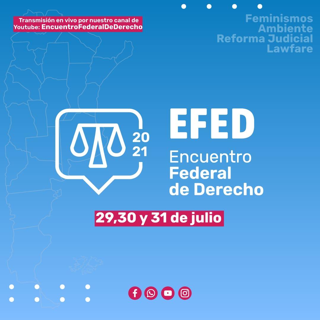 Con cierre de Alberto Fernández, se lanza el II Encuentro Federal de Derecho