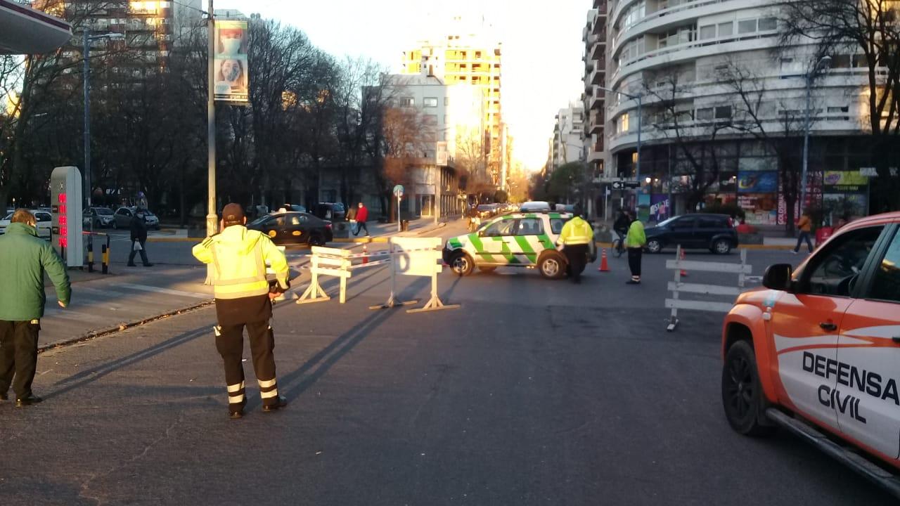 Se realizan cortes de tránsito por arreglo de semáforo
