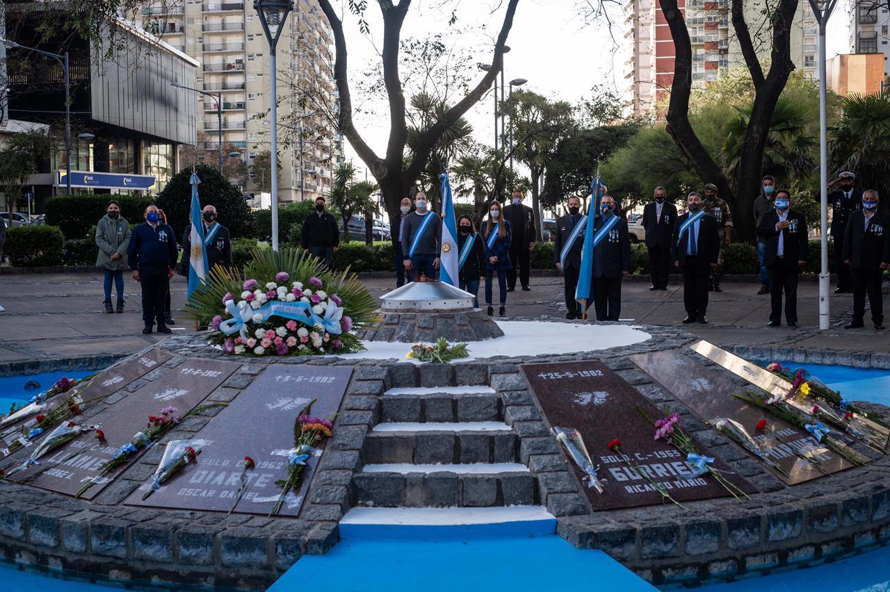 Presentan concurso de ideas para el memorial del Monumento a los Soldados Caídos en Malvinas