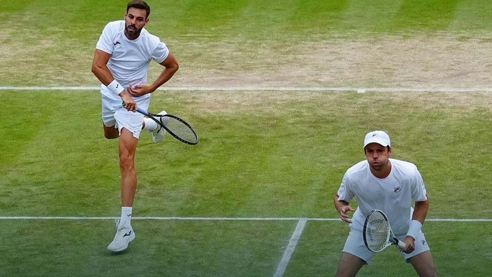 El marplatense Horacio Zeballos, finalista de Wimbledon en dobles
