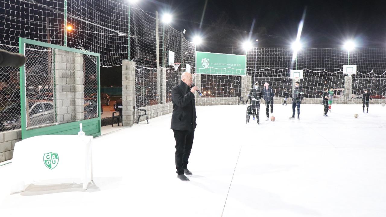 Once Unidos inauguró nuevas instalaciones