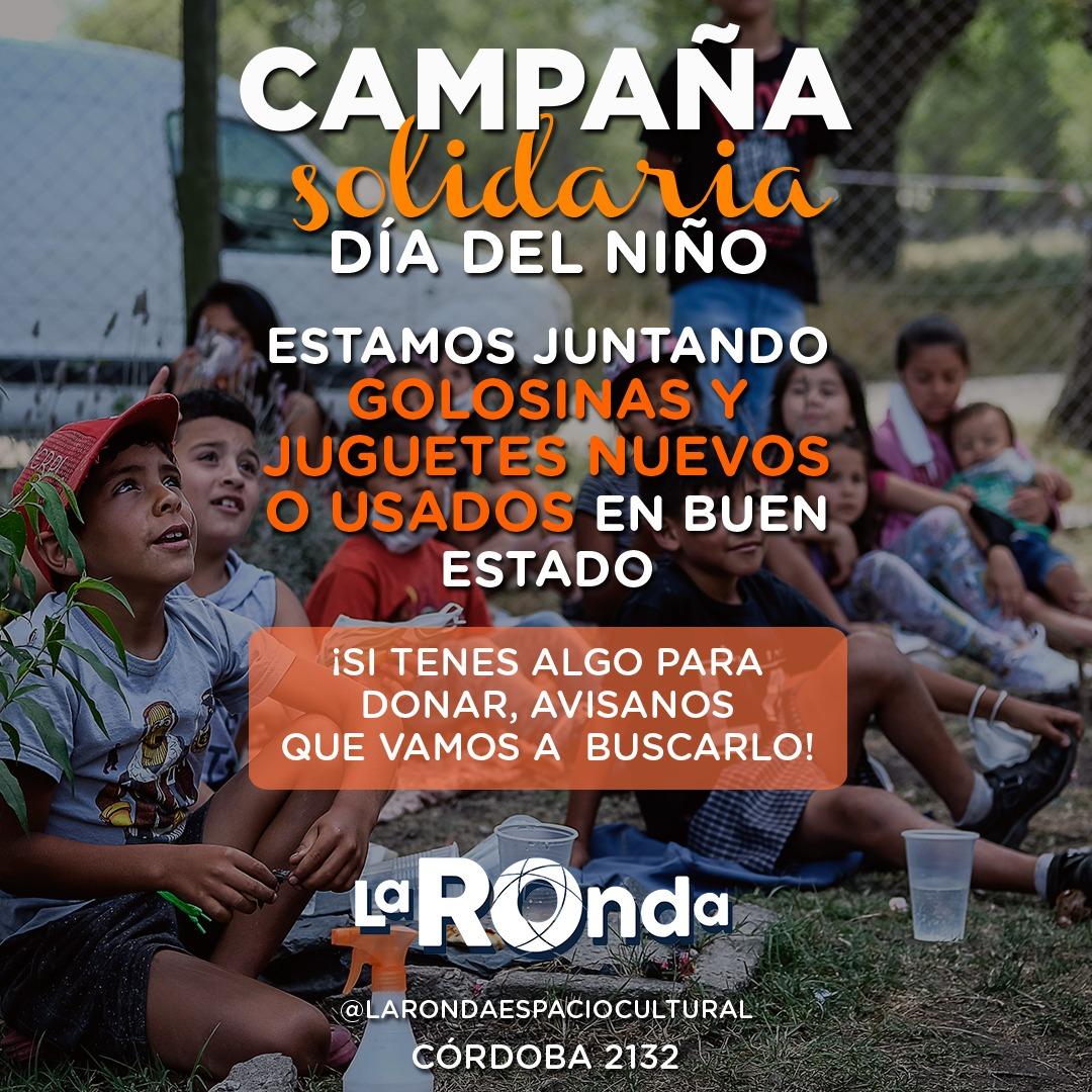 """""""La Ronda"""" junta juguetes y golosinas para festejar el Día del Niño y la Niña"""