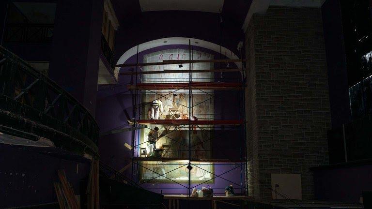 El incendio en el viejo cine San Martín no afectó los murales de Castagnino