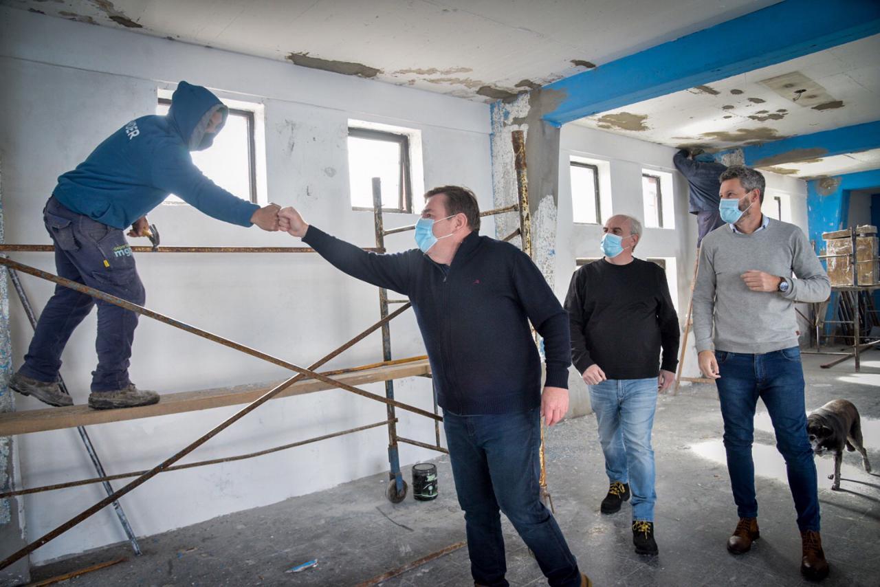 Comenzaron las obras en el gimnasio del Patinódromo Municipal