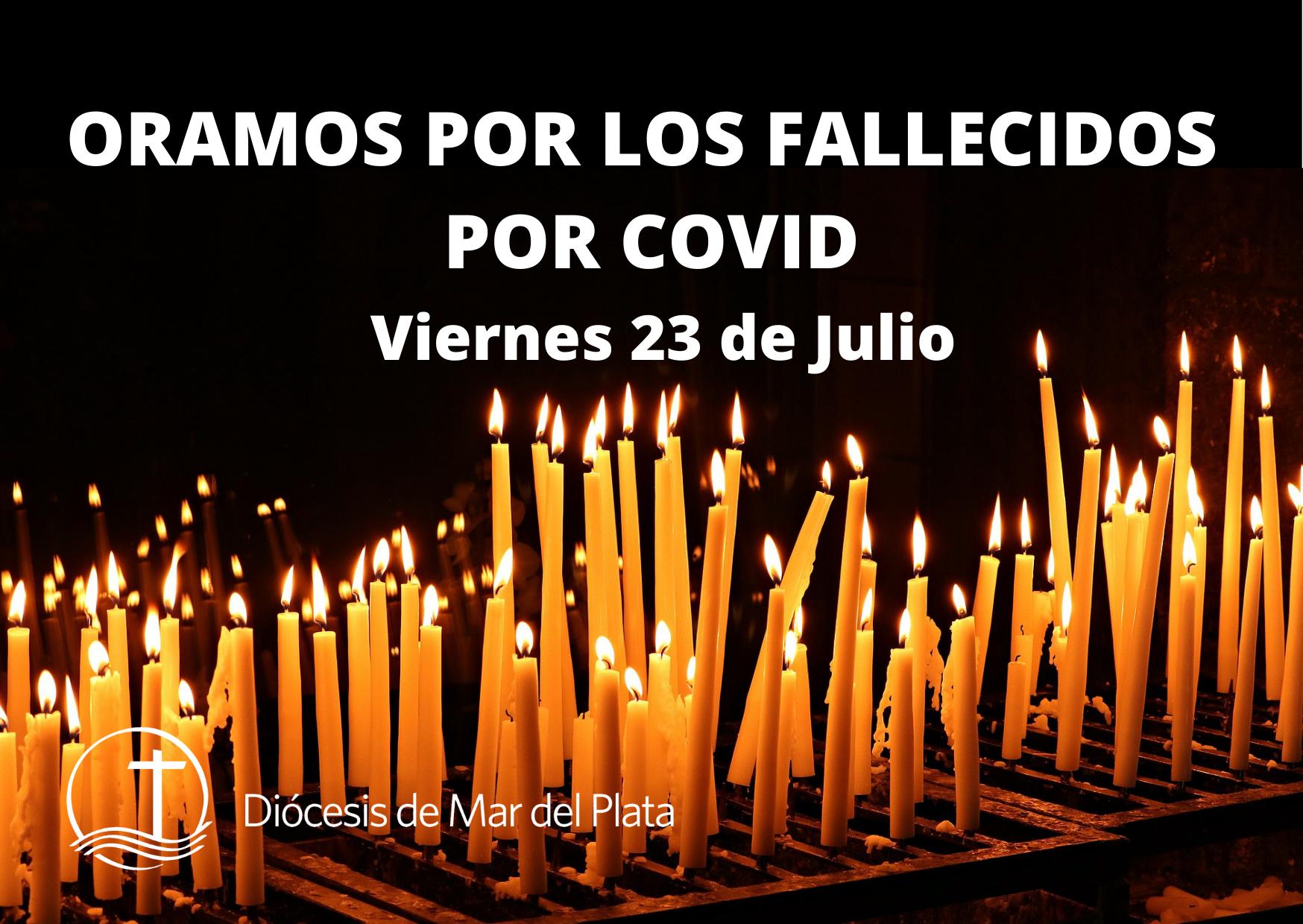 Invitan a rezar por los muertos por Covid