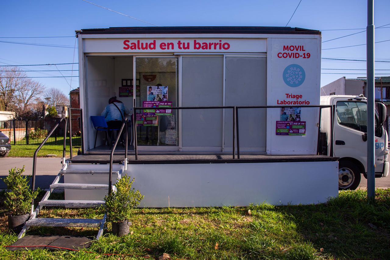 El dispositivo Salud en tu barrio se traslada a Parque Camet