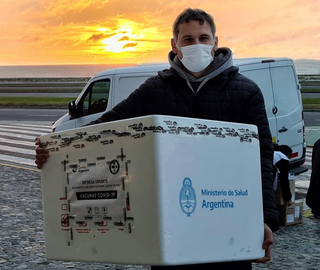 Mar del Plata recibió 8.100 dosis de vacunas Sinopharm y comienzan a aplicarse en los 13 centros