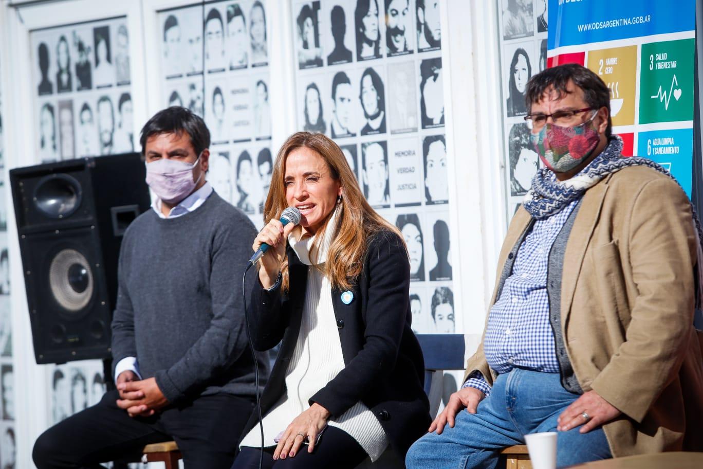 """""""No queremos ni pensar lo que hubiese sido la pandemia con Macri y Vidal"""", dijo Tolosa Paz"""