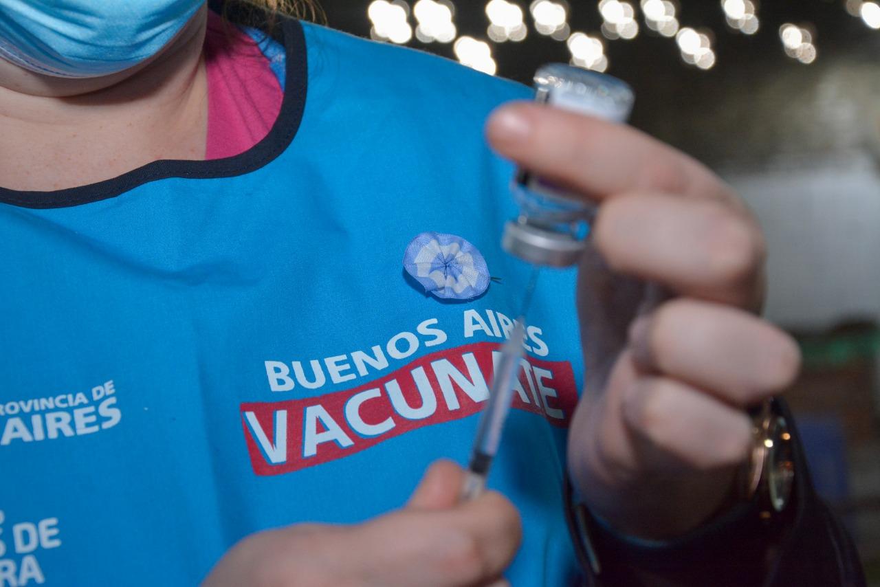 Gobierno bonaerense envió más de 290 mil turnos para aplicar segundas dosis de vacunas
