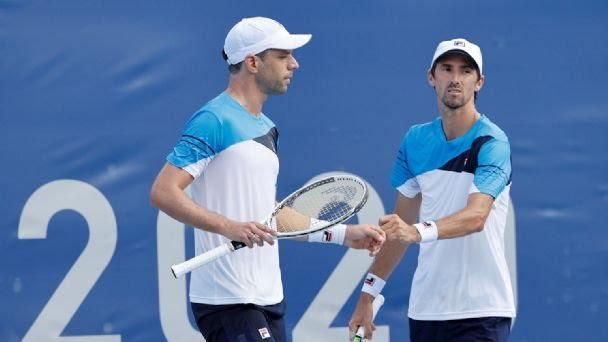 Ajustada derrota y eliminación de Horacio Zeballos en dobles masculino
