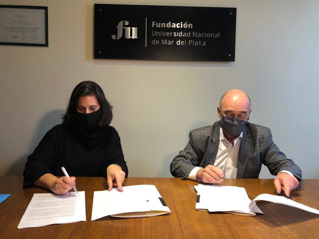 La Fundación de la UNMDP firmó un convenio con el Ministerio de Desarrollo Social