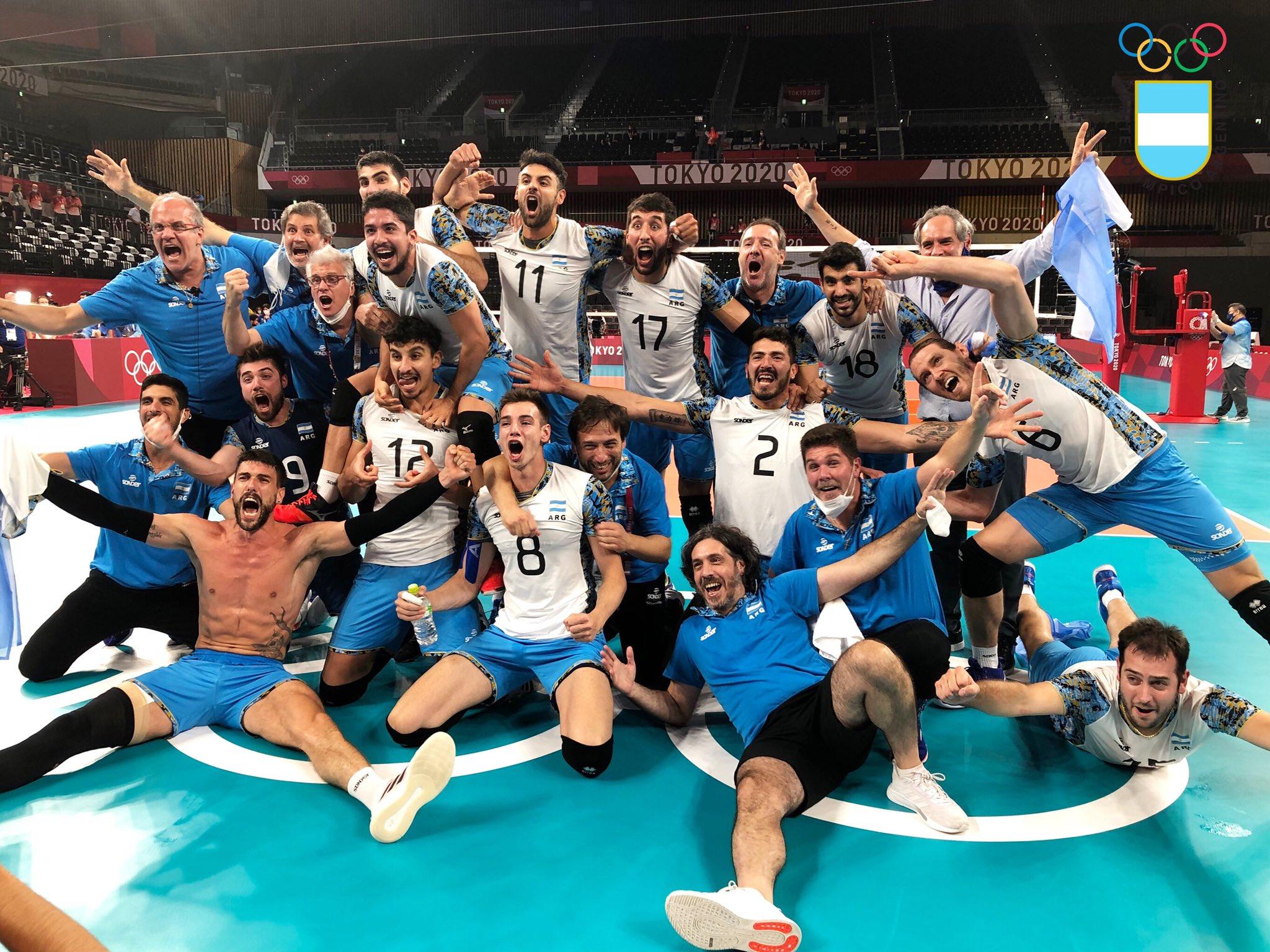 Vóleibol: Argentina le gana 3-2 a Brasil y se lleva la medalla de bronce