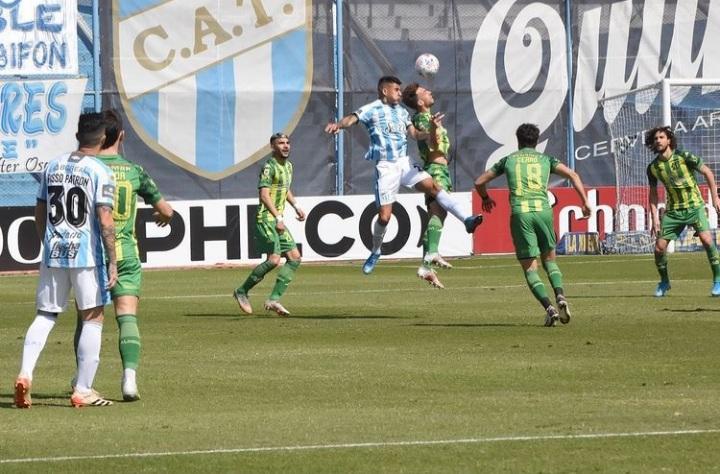 Sobre la hora, Aldosivi dejó escapar la victoria en Tucumán